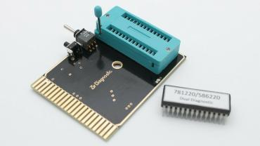 ZIF Diagnostic Cartridge for Commodore 64