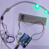 Gesture Controlled LED Strip With An Arduino